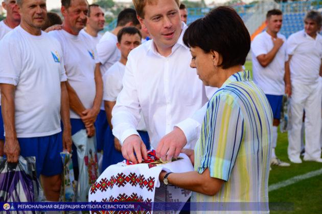 Матчевая встреча сборных команд правительств Севастополя и Санкт-Петербурга победителя не выявила
