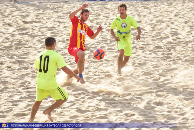 Фестиваль города Севастополя по пляжному футболу. 7-й тур