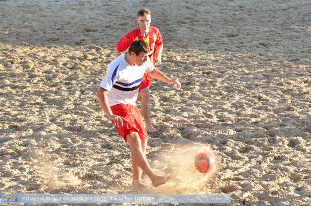 Стартовал Фестиваль города Севастополя по пляжному футболу