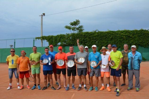 Результаты турнира по теннису в парном разряде «11-й КУБОК ЧЕРНОМОРСКОГО ФЛОТА 2018»