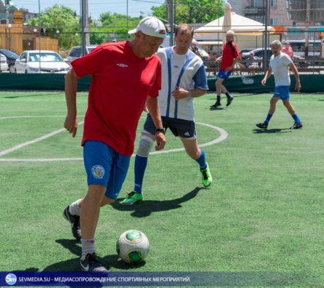 «Штаб ЧФ» и «Зенит» - победители Турнира города Севастополя среди ветеранов 40+ и 50+ по мини-футболу
