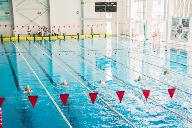 dsc 0024 632x420 - В севастопольском филиале МГУ проходит открытый турнир по плаванию