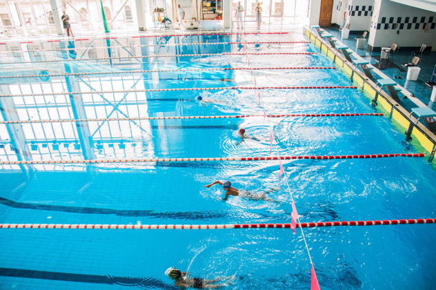 dsc 0785 632x420 - В севастопольском филиале МГУ проходит открытый турнир по плаванию