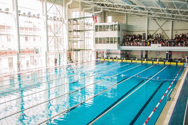 dsc 0817 632x420 - В севастопольском филиале МГУ проходит открытый турнир по плаванию