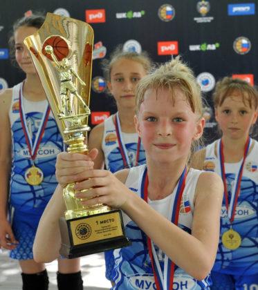 Команда СК «Муссон» по баскетболу стала победителем Всероссийского фестиваля «Мини-баскетбол РФБ» среди девушек