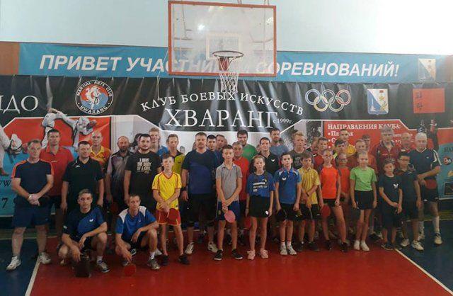 В Севастополе разыграли Кубок Президента городской федерации настольного тенниса