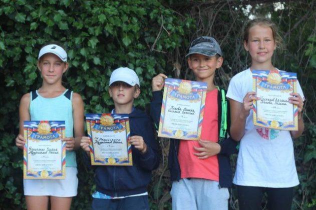 Результаты детского турнира по теннису в парном разряде «Июльский дуплет - 2018»