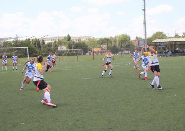 Женская команда Севастопольских Титанов вышла в плей-офф Кубка России по флаг-футболу