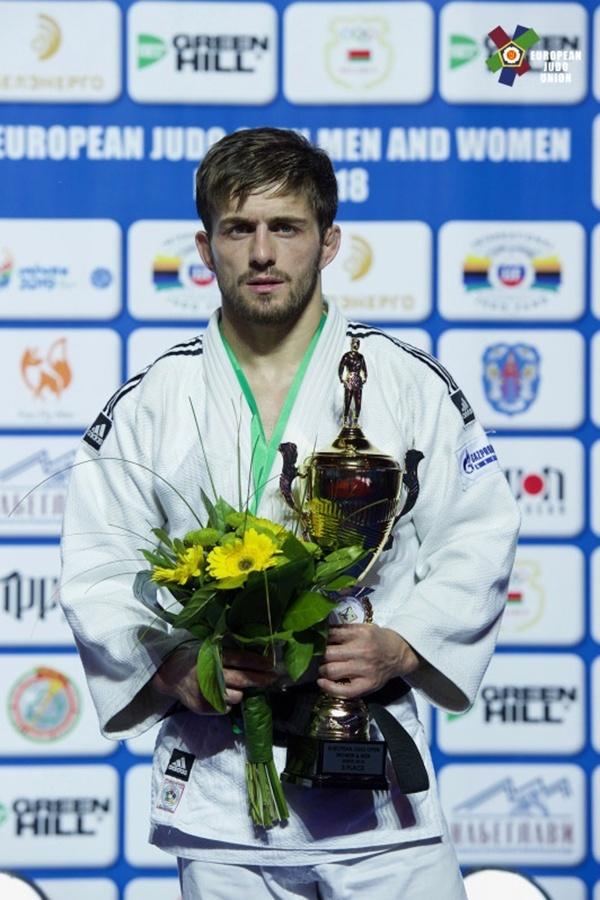 23082018 1 - Лаша Ломидзе завоевал «бронзу» Кубка Европы по дзюдо