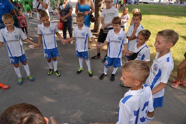 Севастопольские юные футболисты получили традиционное напутствие перед началом нового сезона