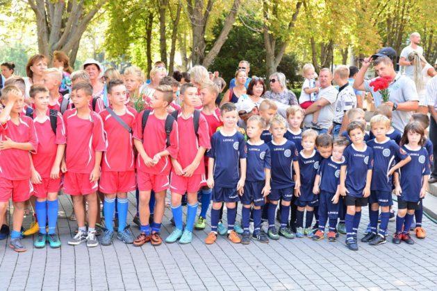 dsc 6200 629x420 - Севастопольские юные футболисты получили традиционное напутствие перед началом нового сезона