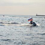 В яхт-клубе «Юг» прошли гонки на аквабайках – самая зрелищная часть Парусной недели Севастополя