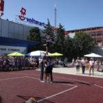 Севастополь присоединился к всероссийской акции уличного баскетбола «Оранжевый мяч»