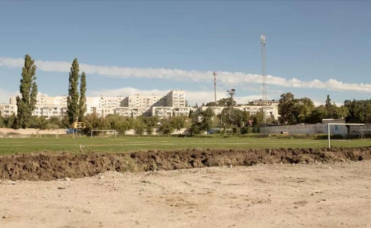 В Балаклаве началась реконструкция стадиона «Горняк»