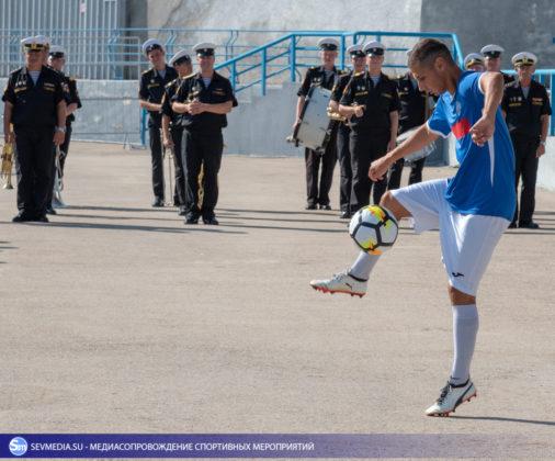 Стартовал Чемпионат Вооруженных Сил Российской Федерации по футболу