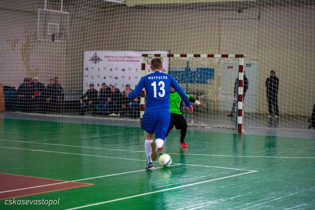 Сборная ВКС вышла в лидеры Чемпионата ВС РФ по мини-футболу