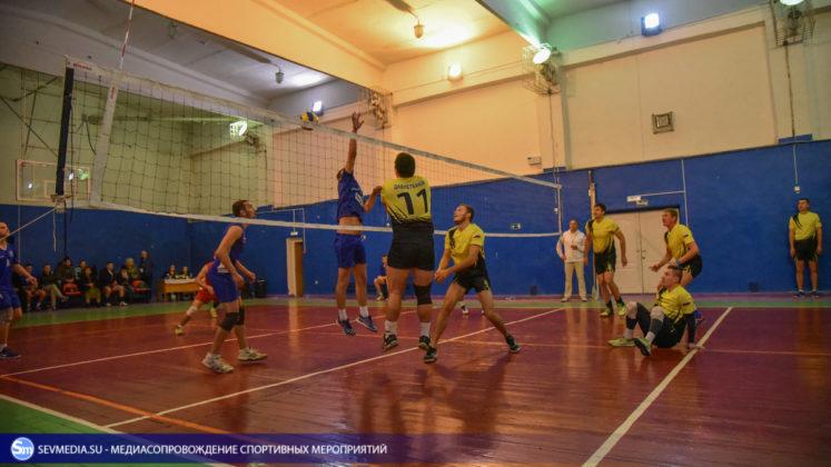 dsc 5303 747x420 - Сборная команда Черноморского флота - победитель Открытого чемпионата Севастополя по волейболу 2018 года