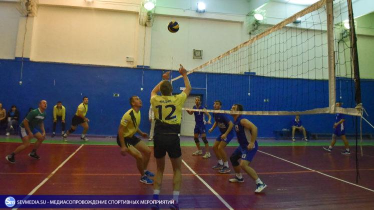 dsc 5357 747x420 - Сборная команда Черноморского флота - победитель Открытого чемпионата Севастополя по волейболу 2018 года