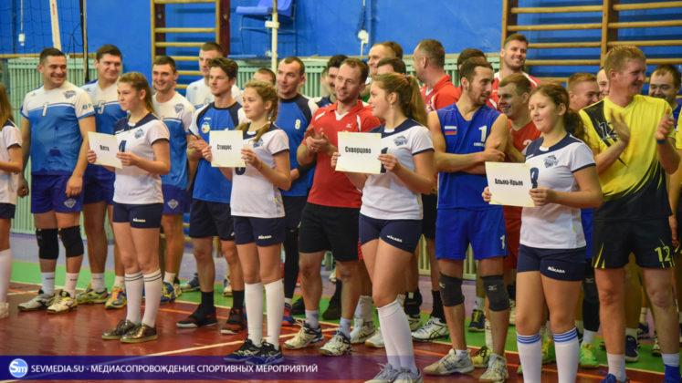 dsc 5459 747x420 - Сборная команда Черноморского флота - победитель Открытого чемпионата Севастополя по волейболу 2018 года