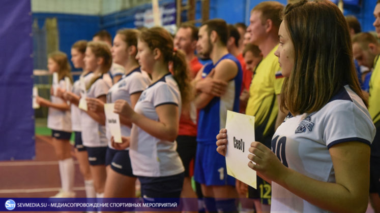 dsc 5466 747x420 - Сборная команда Черноморского флота - победитель Открытого чемпионата Севастополя по волейболу 2018 года