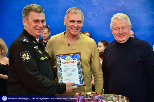 Сборная команда Черноморского флота - победитель Открытого чемпионата Севастополя по волейболу 2018 года