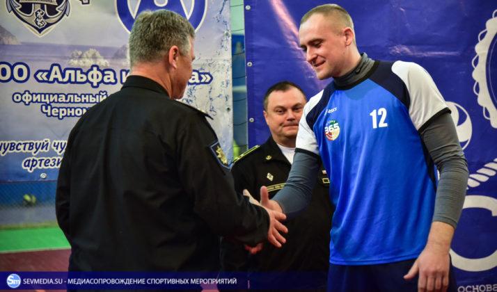 dsc 5724 714x420 - Сборная команда Черноморского флота - победитель Открытого чемпионата Севастополя по волейболу 2018 года