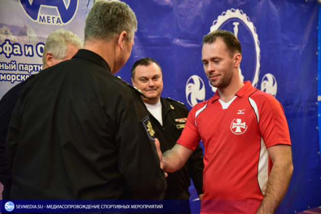 dsc 5743 630x420 - Сборная команда Черноморского флота - победитель Открытого чемпионата Севастополя по волейболу 2018 года