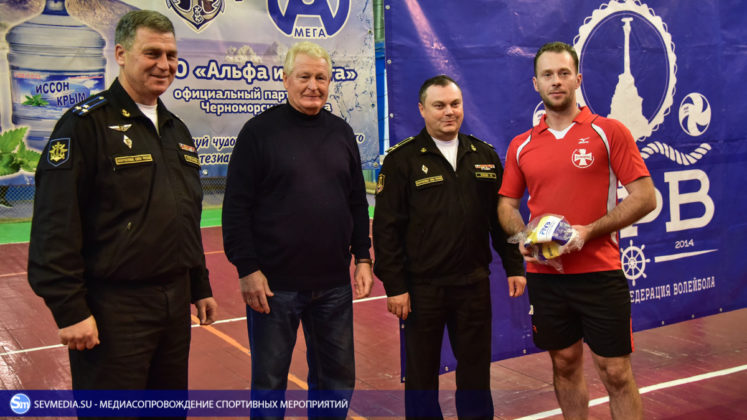 dsc 5752 747x420 - Сборная команда Черноморского флота - победитель Открытого чемпионата Севастополя по волейболу 2018 года