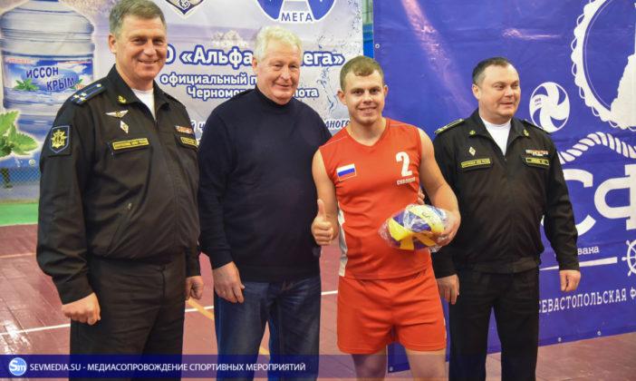 dsc 5761 702x420 - Сборная команда Черноморского флота - победитель Открытого чемпионата Севастополя по волейболу 2018 года