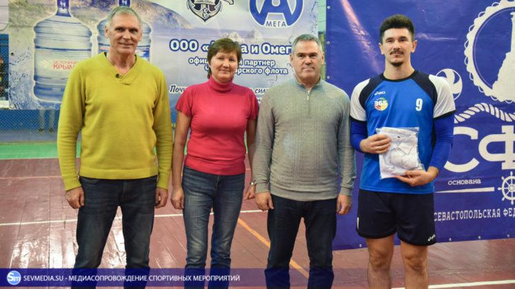 dsc 5793 747x420 - Сборная команда Черноморского флота - победитель Открытого чемпионата Севастополя по волейболу 2018 года