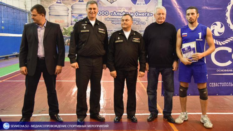 dsc 5816 747x420 - Сборная команда Черноморского флота - победитель Открытого чемпионата Севастополя по волейболу 2018 года