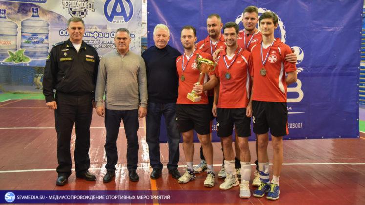 dsc 5843 747x420 - Сборная команда Черноморского флота - победитель Открытого чемпионата Севастополя по волейболу 2018 года