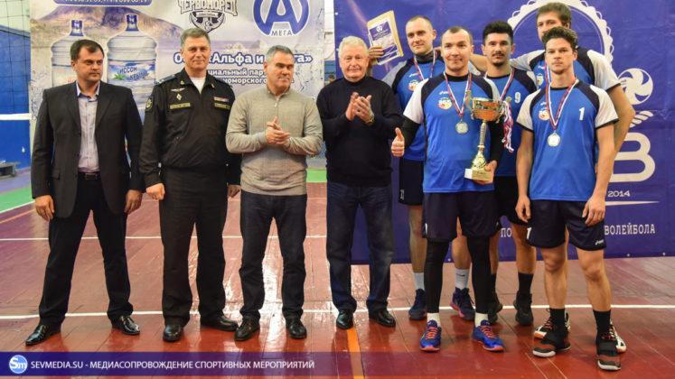 dsc 5878 747x420 - Сборная команда Черноморского флота - победитель Открытого чемпионата Севастополя по волейболу 2018 года