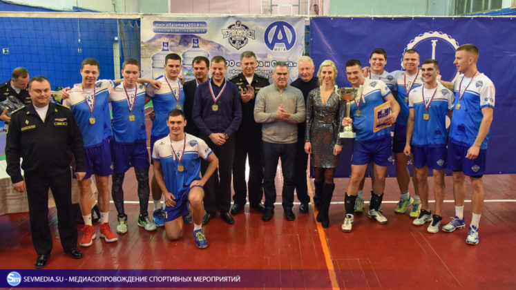 dsc 5931 747x420 - Сборная команда Черноморского флота - победитель Открытого чемпионата Севастополя по волейболу 2018 года
