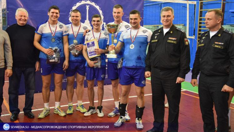 dsc 5947 747x420 - Сборная команда Черноморского флота - победитель Открытого чемпионата Севастополя по волейболу 2018 года