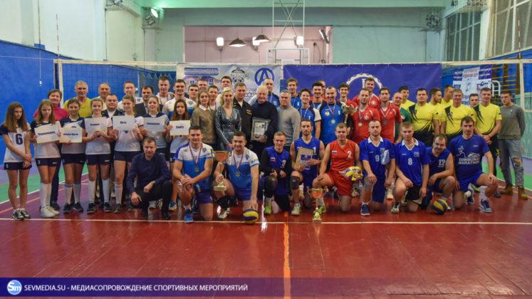 dsc 5979 747x420 - Сборная команда Черноморского флота - победитель Открытого чемпионата Севастополя по волейболу 2018 года