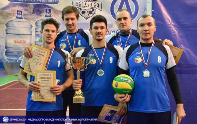 dsc 6010 667x420 - Сборная команда Черноморского флота - победитель Открытого чемпионата Севастополя по волейболу 2018 года