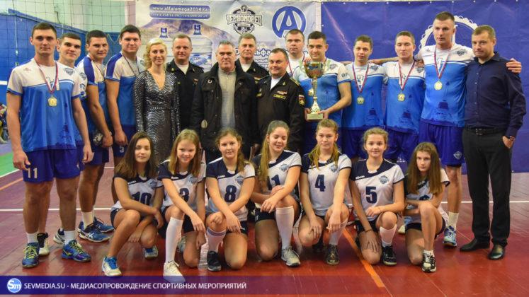 dsc 6047 747x420 - Сборная команда Черноморского флота - победитель Открытого чемпионата Севастополя по волейболу 2018 года
