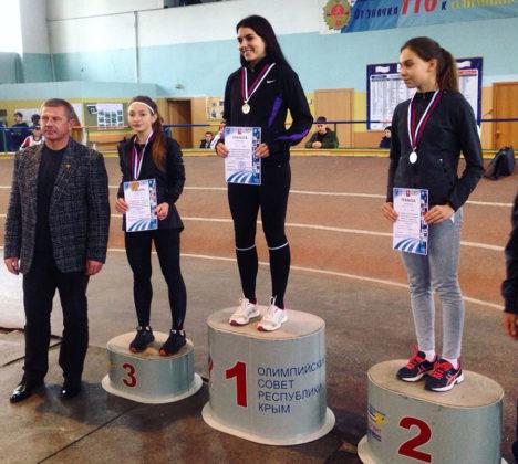 Севастопольские атлеты среди лучших на чемпионате Республики Крым по легкой атлетике в помещении 2019