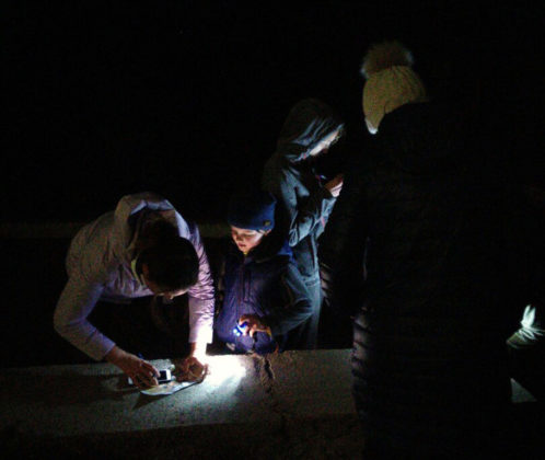 В Севастополе прошли соревнования по ночному ориентированию