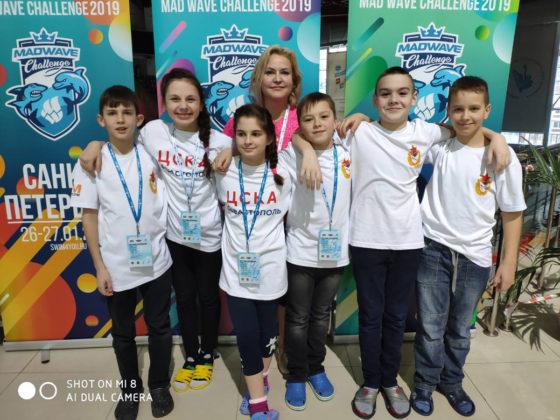 Марика Мардоян - серебряный призер Всероссийских соревнований «Mad Wave Challenge 2019» по плаванию!