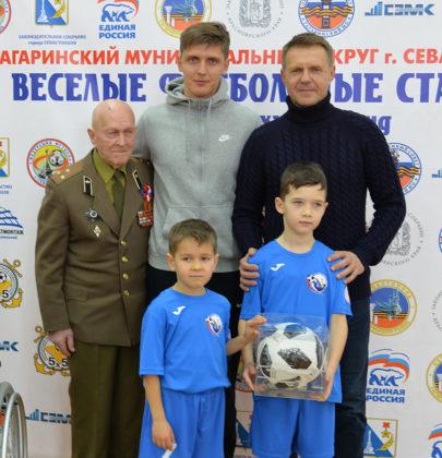 В СевГУ прошел открытый детский турнир по мини-футболу «Веселые футбольные старты – 2019»