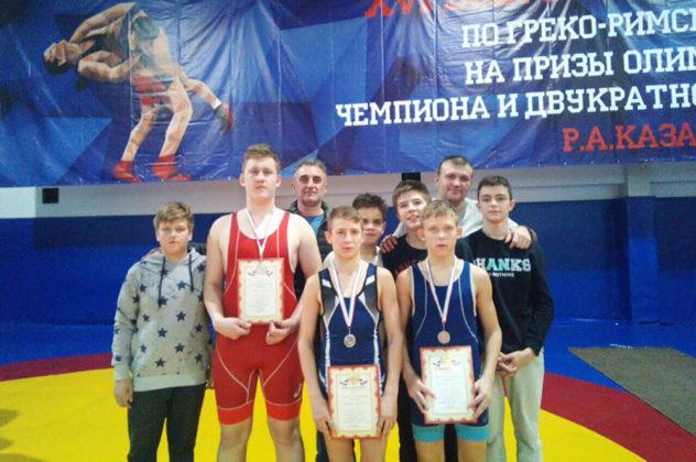 12032019 2 632x420 - Севастопольские спортсмены стали призерами первенства Крыма по греко-римской борьбе