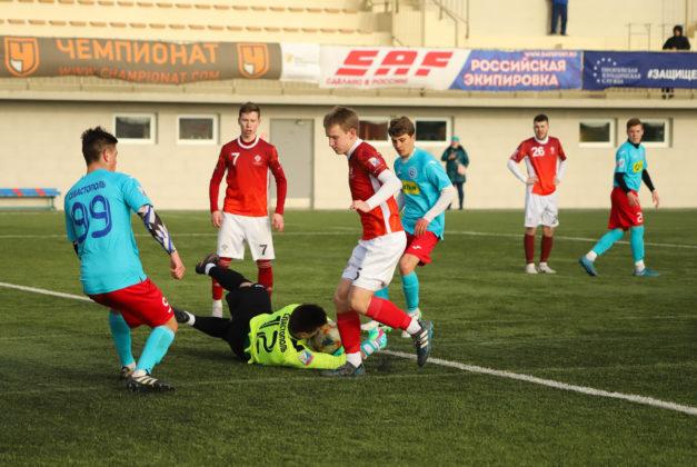 21032019 15 627x420 - Сборная СевГУ одержала победу во втором матче весенней части НСФЛ