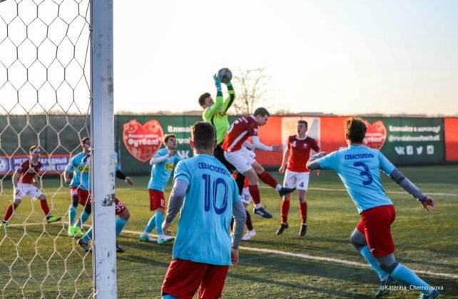 21032019 24 642x420 - Сборная СевГУ одержала победу во втором матче весенней части НСФЛ