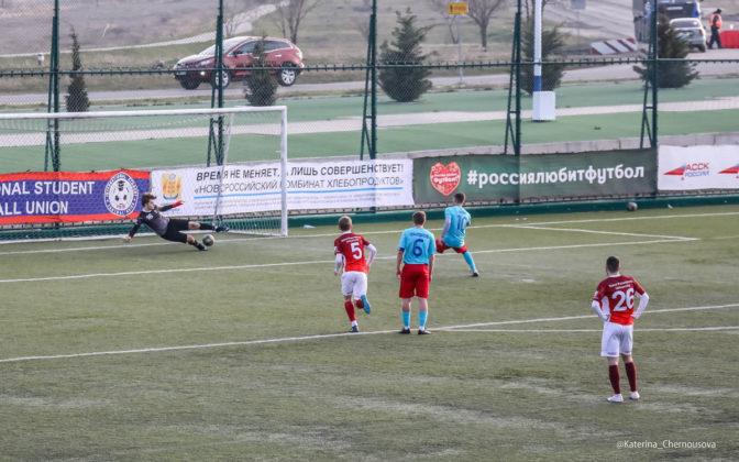 21032019 32 672x420 - Сборная СевГУ одержала победу во втором матче весенней части НСФЛ