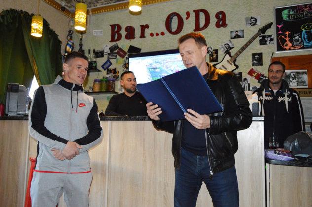 01042019 1 632x420 - Александру Жабокрицкому вручена благодарность от имени Федерации футбола Севастополя