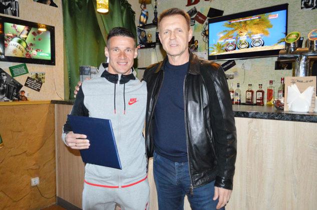 Александру Жабокрицкому вручена благодарность от имени Федерации футбола Севастополя