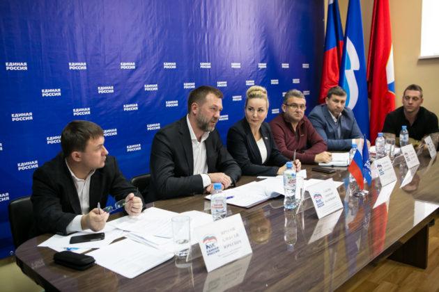 Дмитрий Саблин встретился с руководителями федераций спорта Севастополя