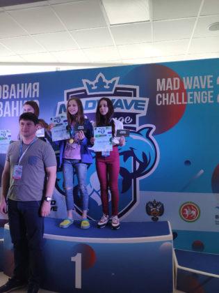 Марика Мардоян – бронзовый призёр финального этапа Всероссийских соревнований «Mad Wave Challenge 2019»